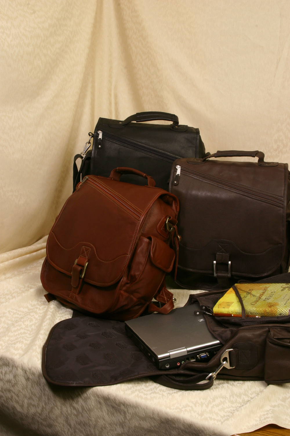 Leather Backpack/Briefcase