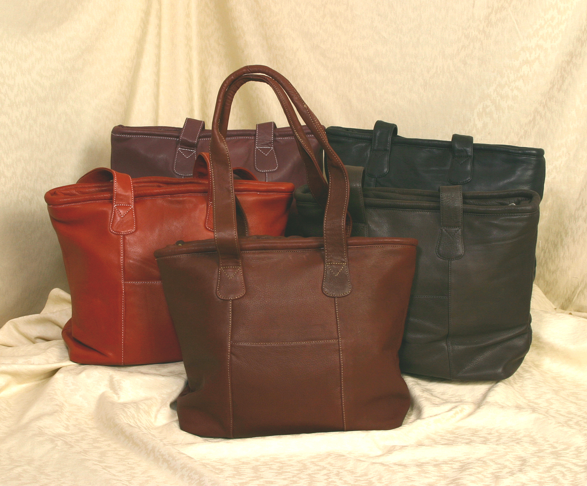 Leather Tote Bag/Purse