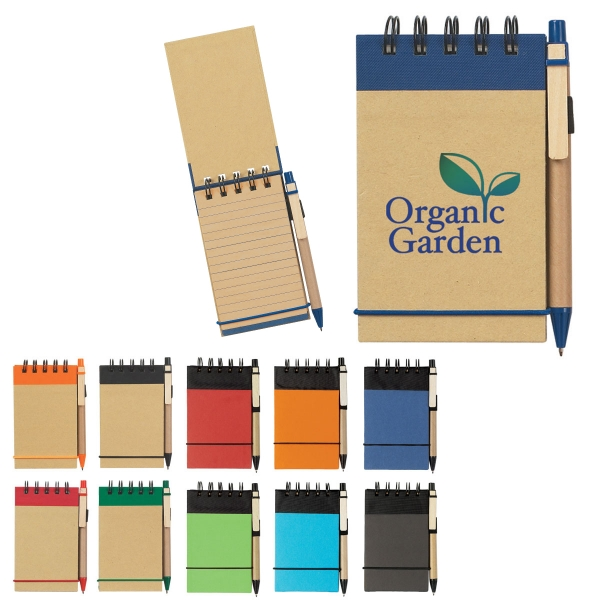 Eco Jotter and Pen