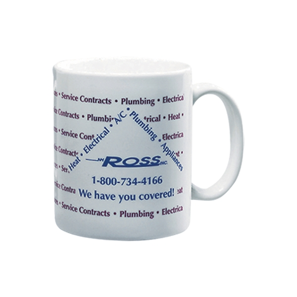 White 11oz Budget Mug