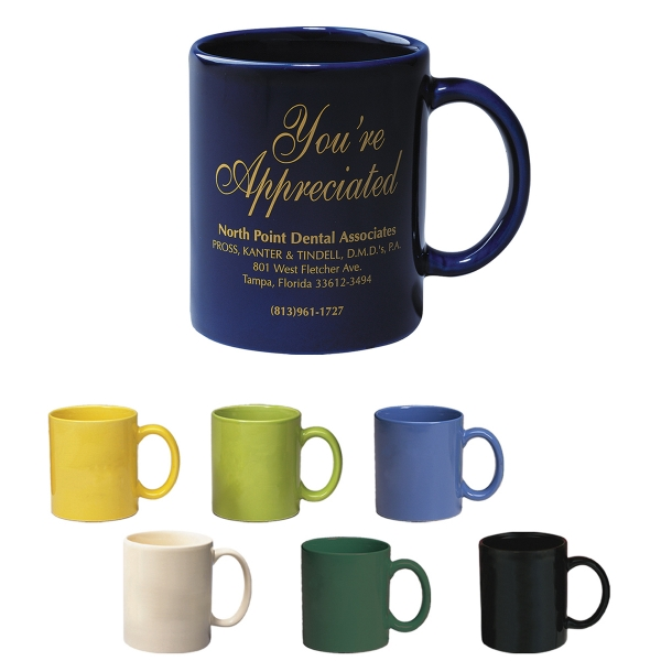 11oz Budget Mug Colors