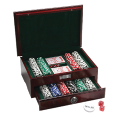 500pc Executive Poker Set